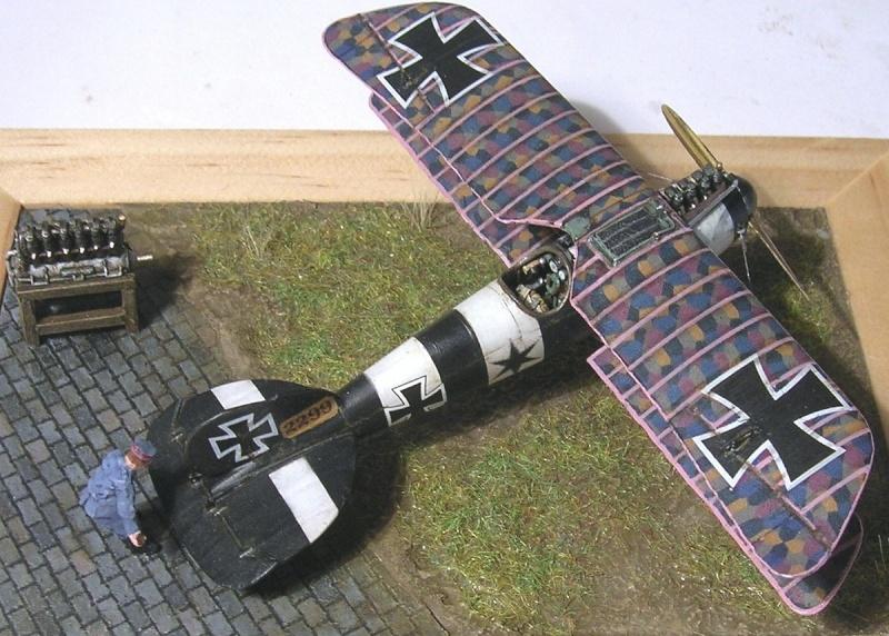 Albatros D-V 1/72 Albatr16