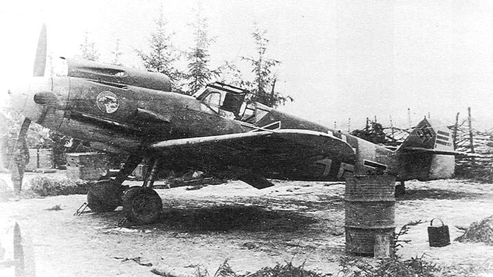 Messerschmitt Bf109F2 1/72 Bf-10910