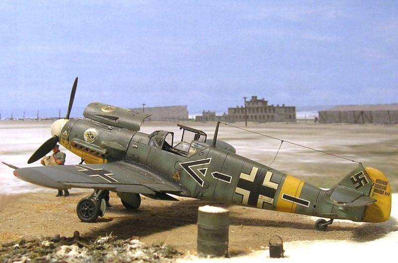 Messerschmitt Bf109F2 1/72 Bf109f10