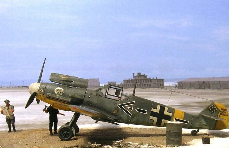 Messerschmitt Bf109F2 1/72 Bf109f11