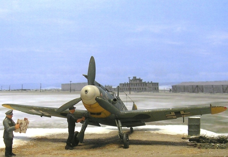 Messerschmitt Bf109F2 1/72 Bf109f12