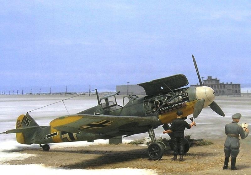 Messerschmitt Bf109F2 1/72 Bf109f13