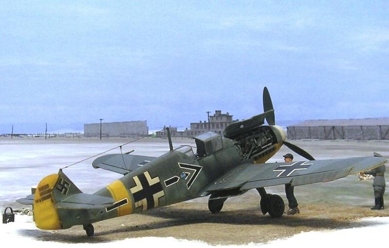 Messerschmitt Bf109F2 1/72 Bf109f16