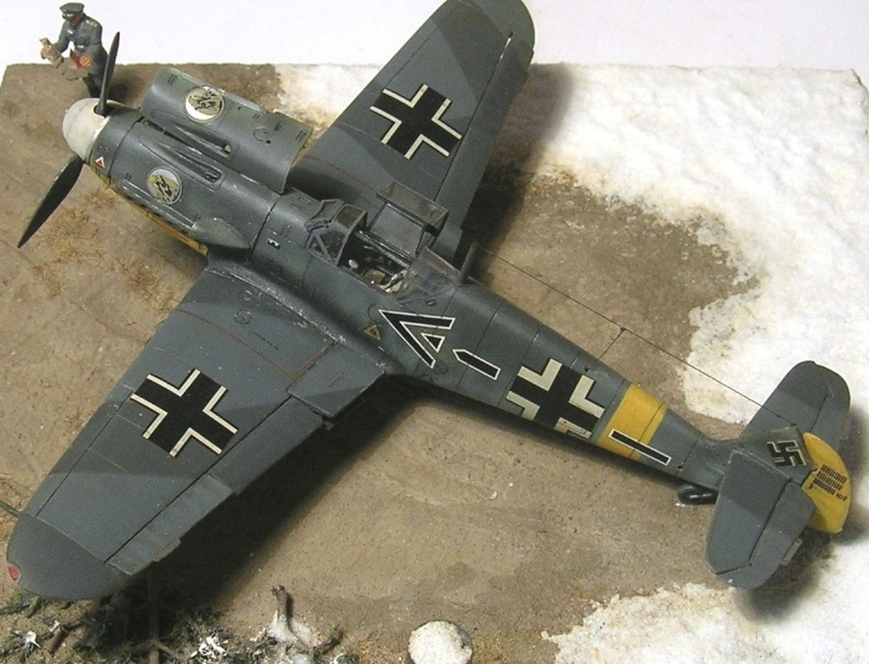 Messerschmitt Bf109F2 1/72 Bf109f18
