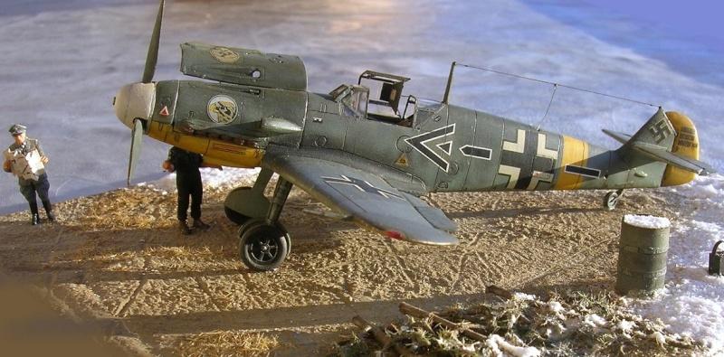 Messerschmitt Bf109F2 1/72 Bf109f20
