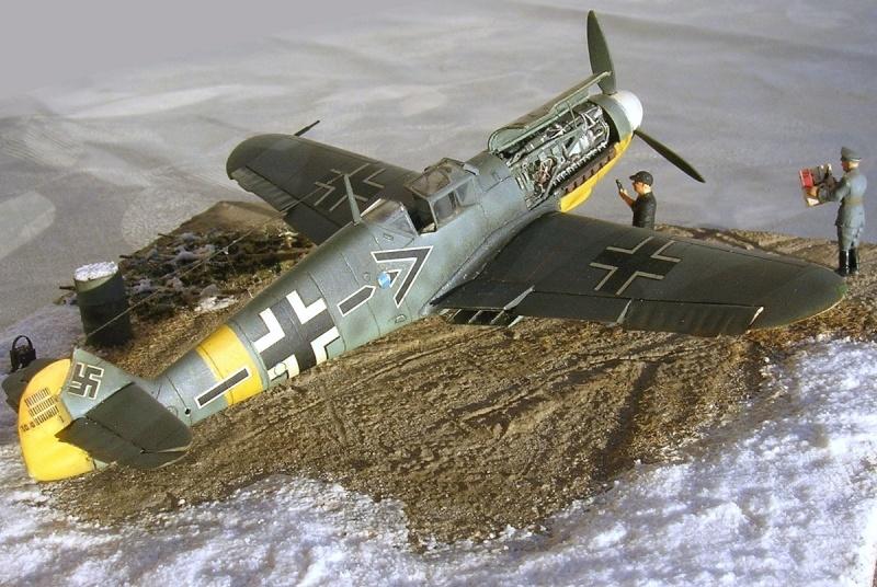 Messerschmitt Bf109F2 1/72 Bf109f21