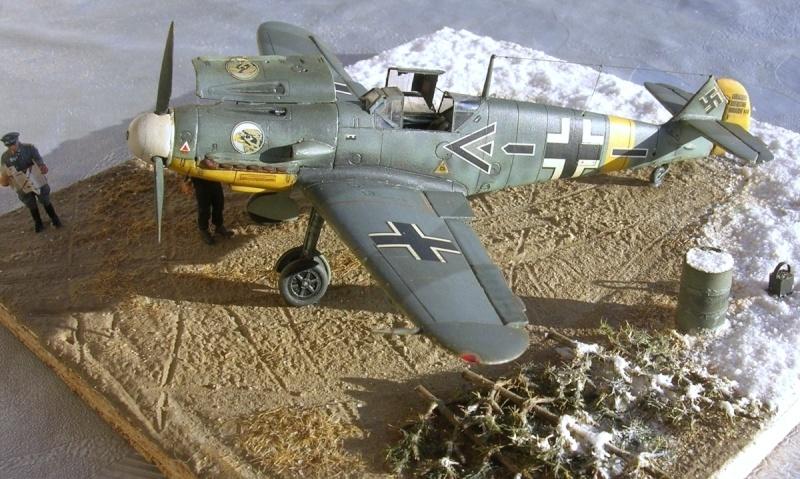 Messerschmitt Bf109F2 1/72 Bf109f22