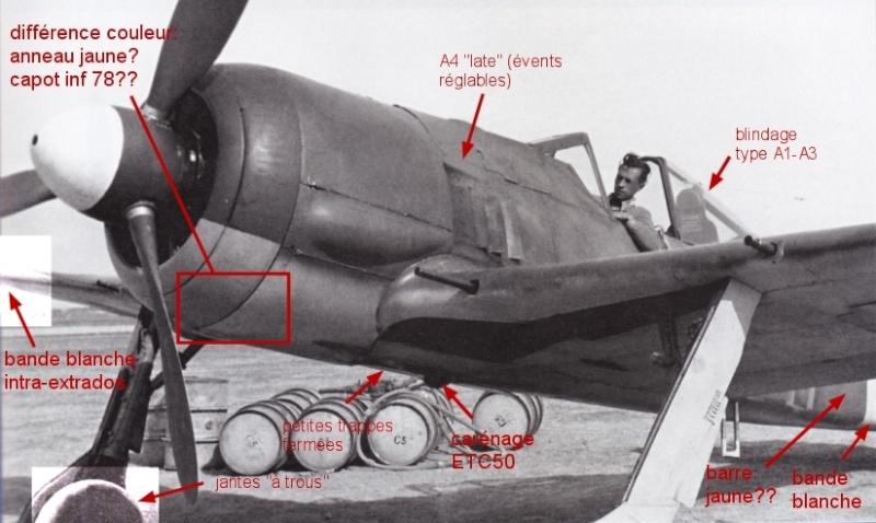 Montage: trio de Fw190A3/A4 1/72 Fw190a16