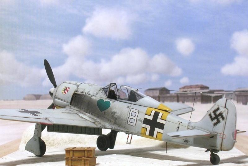 Fw190A4 I/JG54 Walter Nowotny / Tamiya 1/72 Fw190a45