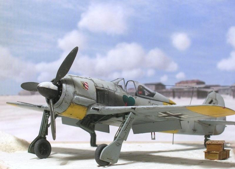 Fw190A4 I/JG54 Walter Nowotny / Tamiya 1/72 Fw190a46