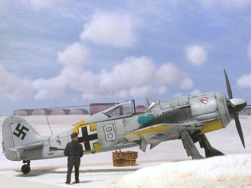 Fw190A4 I/JG54 Walter Nowotny / Tamiya 1/72 Fw190a47