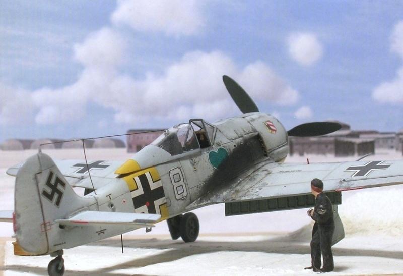 Fw190A4 I/JG54 Walter Nowotny / Tamiya 1/72 Fw190a48