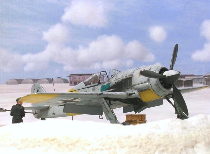 Fw190A4 I/JG54 Walter Nowotny / Tamiya 1/72 Fw190a49