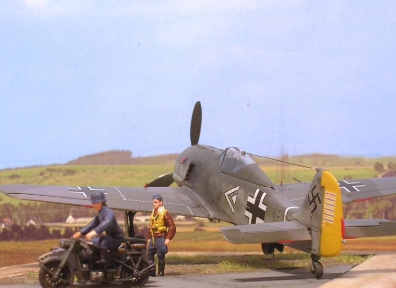 """Fw190A3 III/JG2 Hans """"Assi"""" Hahn / Tamiya 1/72 Fw190a52"""