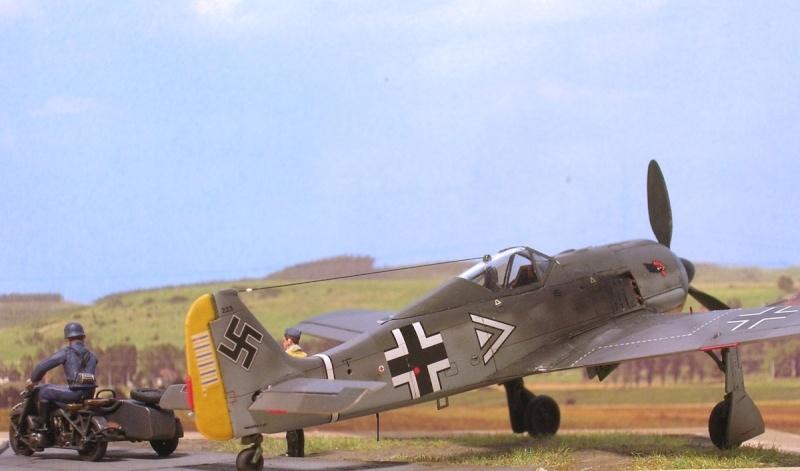 """Fw190A3 III/JG2 Hans """"Assi"""" Hahn / Tamiya 1/72 Fw190a53"""
