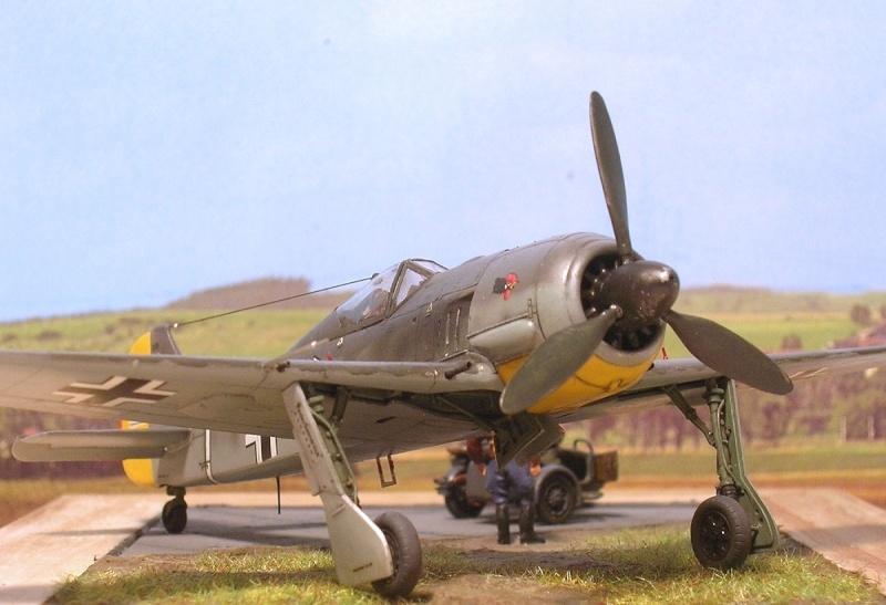 """Fw190A3 III/JG2 Hans """"Assi"""" Hahn / Tamiya 1/72 Fw190a55"""