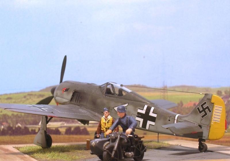 """Fw190A3 III/JG2 Hans """"Assi"""" Hahn / Tamiya 1/72 Fw190a56"""