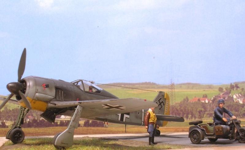 """Fw190A3 III/JG2 Hans """"Assi"""" Hahn / Tamiya 1/72 Fw190a57"""