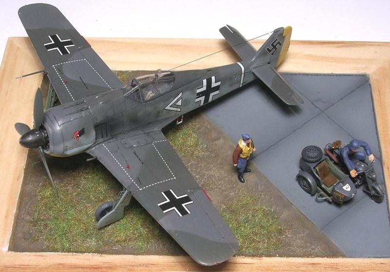 """Fw190A3 III/JG2 Hans """"Assi"""" Hahn / Tamiya 1/72 Fw190a58"""