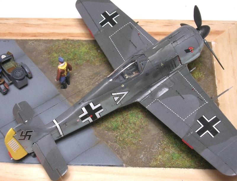 """Fw190A3 III/JG2 Hans """"Assi"""" Hahn / Tamiya 1/72 Fw190a59"""