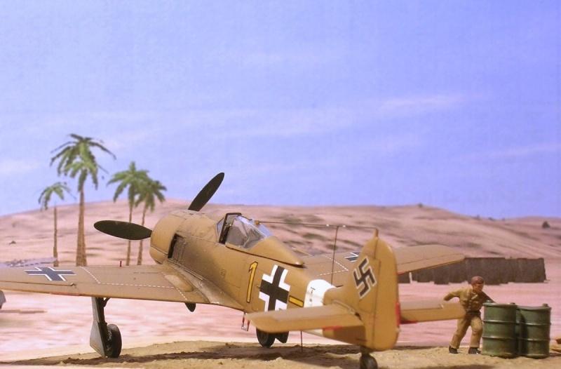 Fw190A4 II/JG2 Erich Rudorffer / Tamiya 1/72 Fw190a62