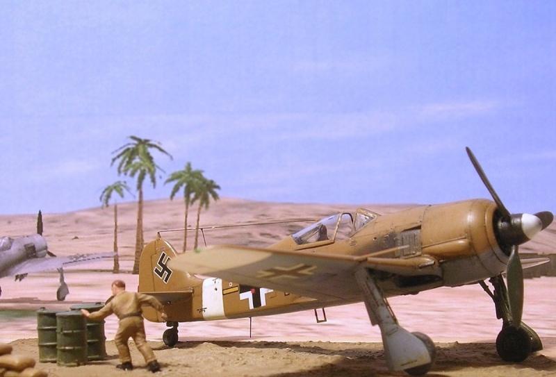 Fw190A4 II/JG2 Erich Rudorffer / Tamiya 1/72 Fw190a63