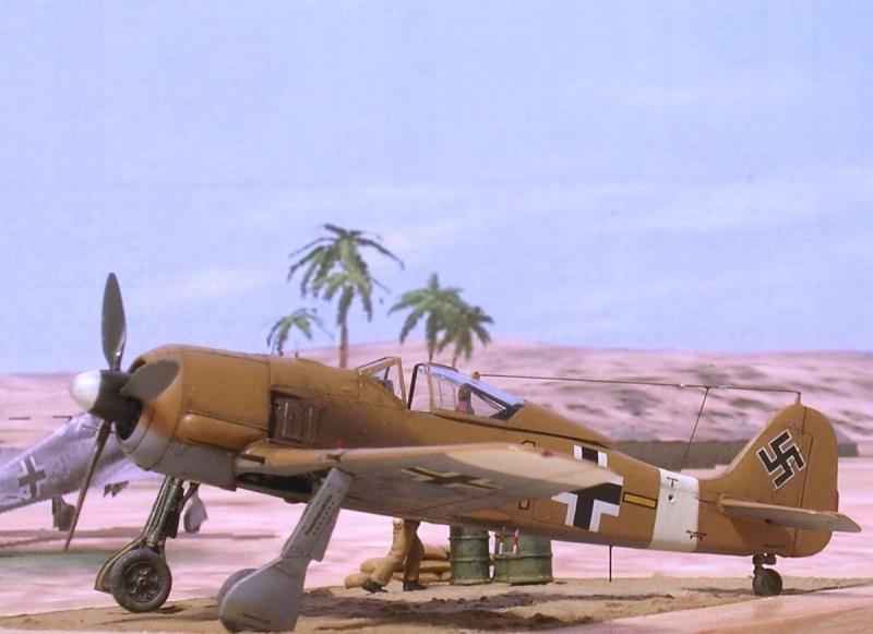 Fw190A4 II/JG2 Erich Rudorffer / Tamiya 1/72 Fw190a64