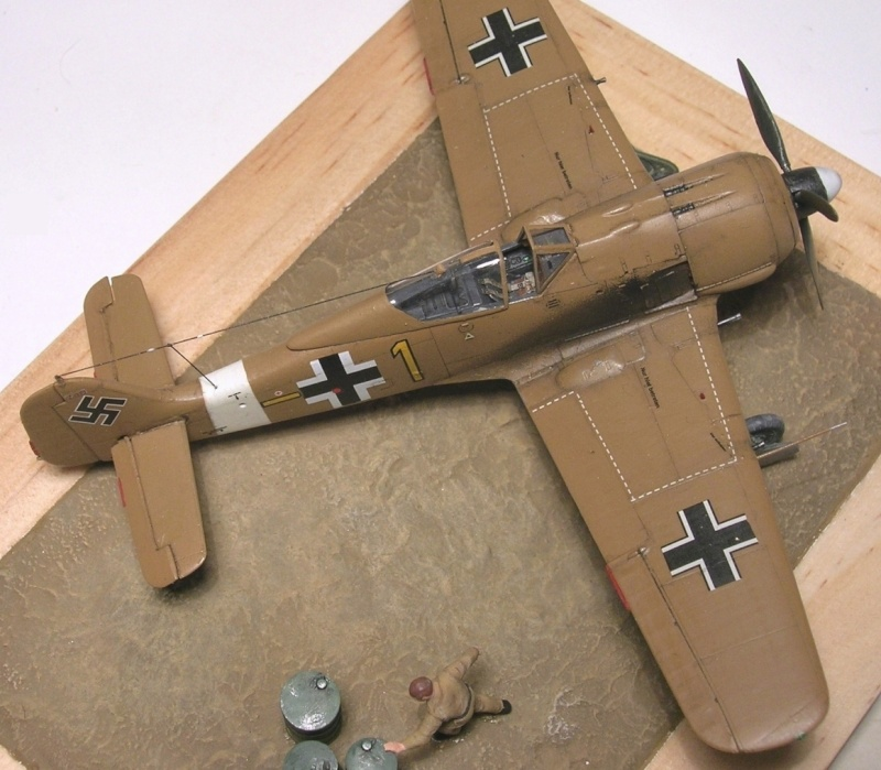 Fw190A4 II/JG2 Erich Rudorffer / Tamiya 1/72 Fw190a67
