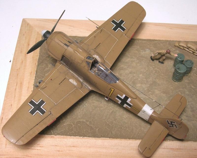Fw190A4 II/JG2 Erich Rudorffer / Tamiya 1/72 Fw190a68