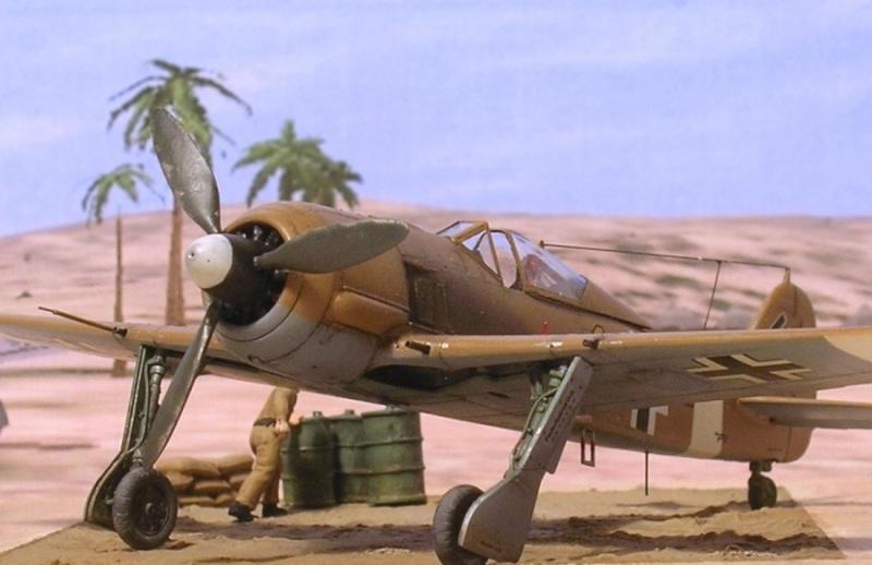 Fw190A4 II/JG2 Erich Rudorffer / Tamiya 1/72 Fw190a69
