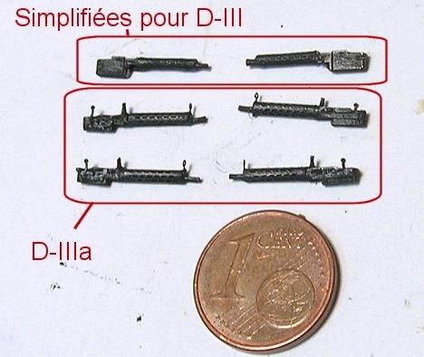 Montage: deux Pfalz D-III / D-IIIa et demi,  1/72 Monta100