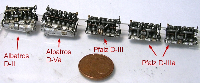 Montage: deux Pfalz D-III / D-IIIa et demi,  1/72 Monta101