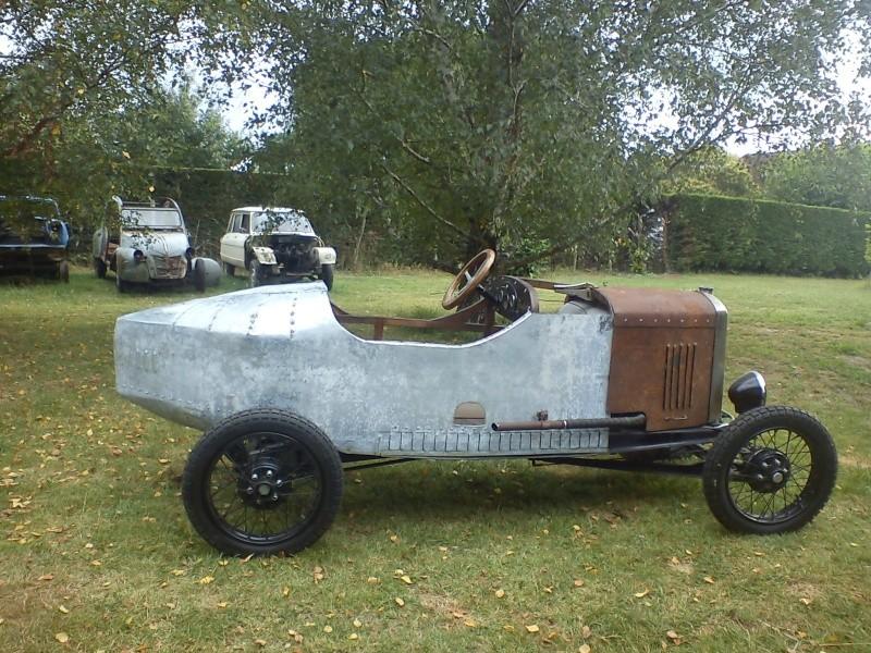 Construction d'un cyclecar Peugeot sur quadrilette 1928 06_08_15