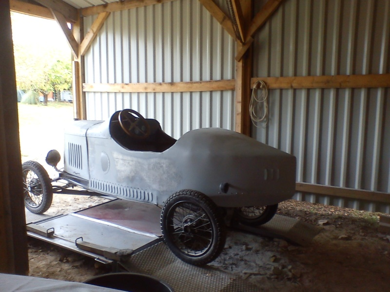 Construction d'un cyclecar Peugeot sur quadrilette 1928 06_10_13