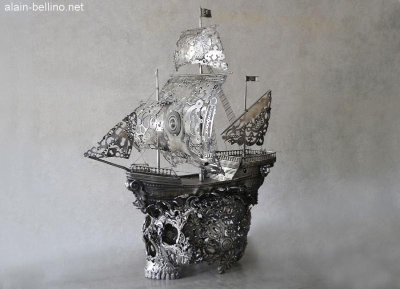 Alain Bellino, l'art subtil de la soudure sur métaux 1010
