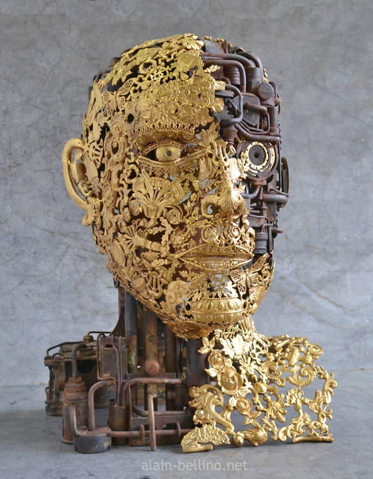Alain Bellino, l'art subtil de la soudure sur métaux 410