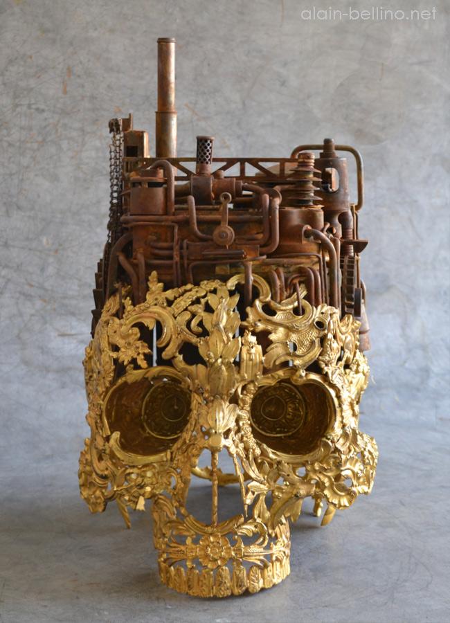 Alain Bellino, l'art subtil de la soudure sur métaux 910