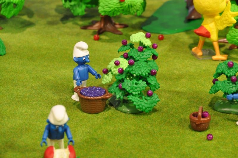 le village playmobil-schtroumpf Objat_12