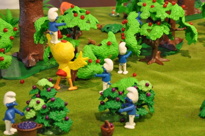 le village playmobil-schtroumpf Objat_13