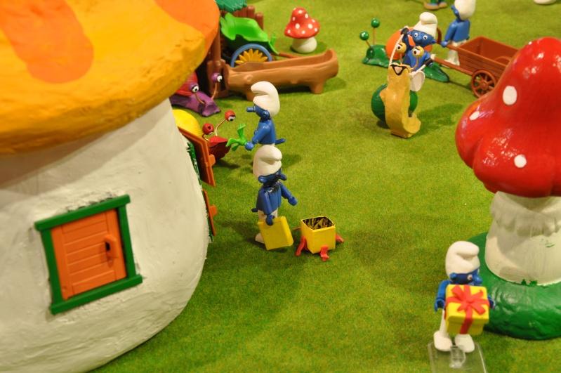 le village playmobil-schtroumpf Objat_15