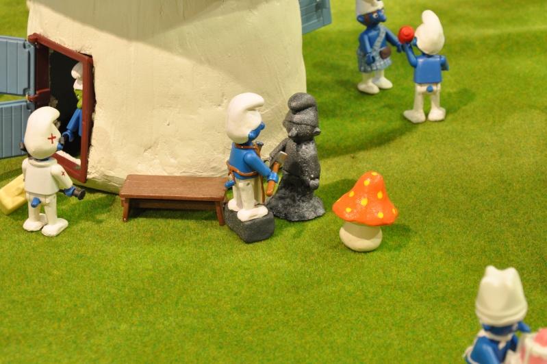 le village playmobil-schtroumpf Objat_17
