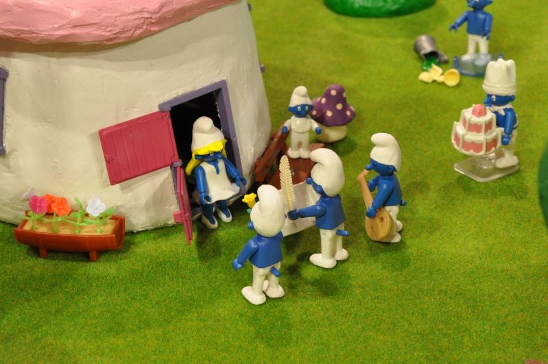 le village playmobil-schtroumpf Objat_18