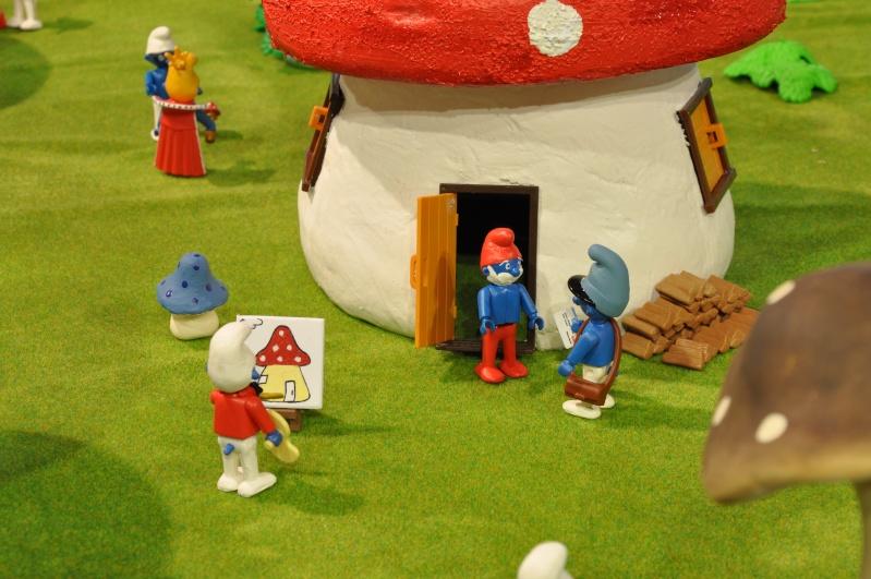 le village playmobil-schtroumpf Objat_19