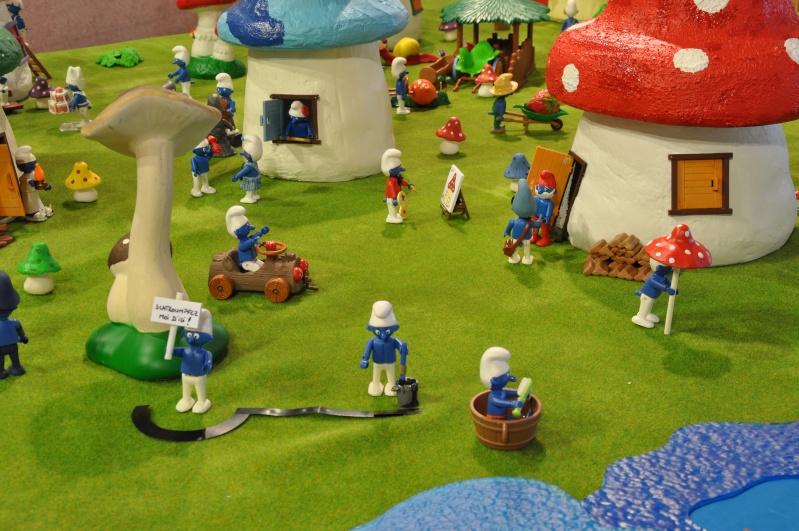 le village playmobil-schtroumpf Objat_20