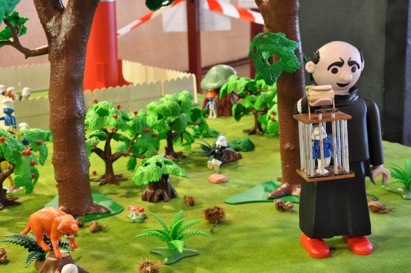 le village playmobil-schtroumpf Objat_22