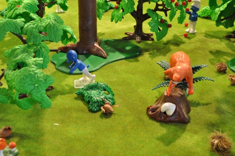 le village playmobil-schtroumpf Objat_23