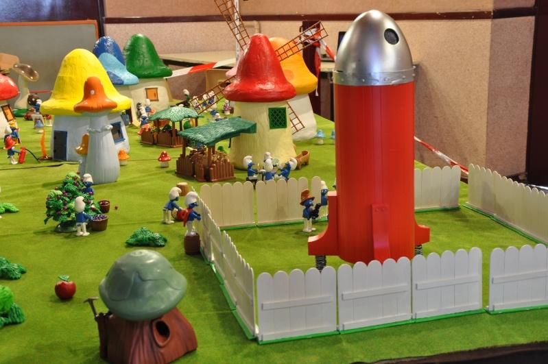 le village playmobil-schtroumpf Objat_24