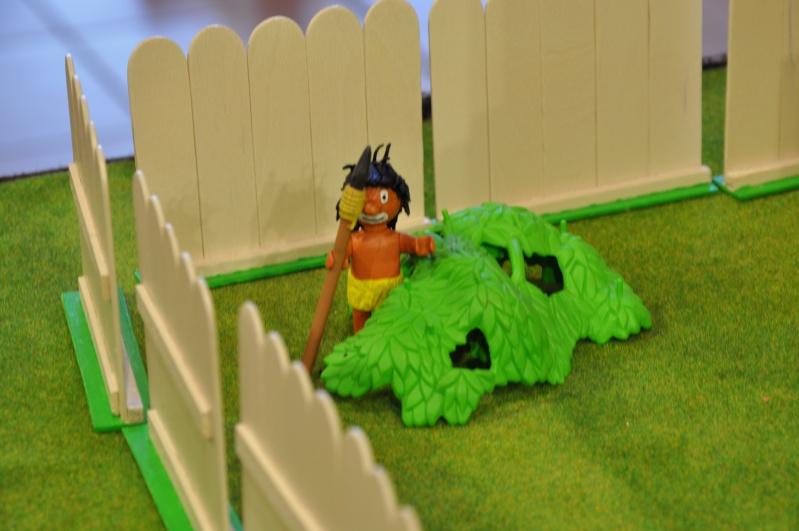 le village playmobil-schtroumpf Objat_25