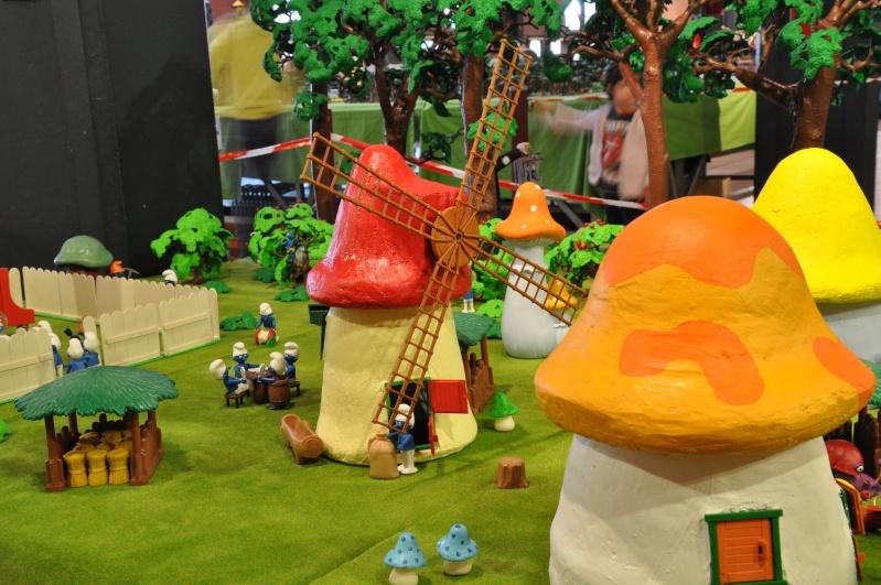le village playmobil-schtroumpf Objat_26