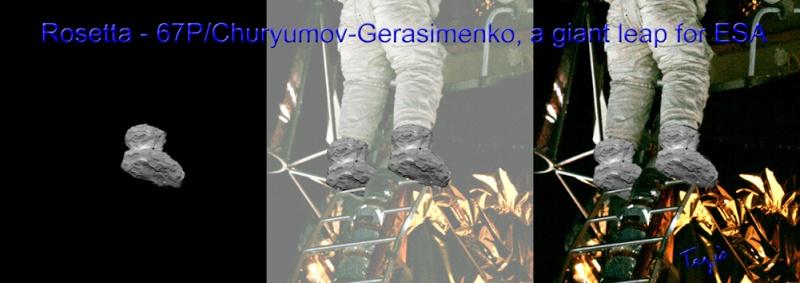 Rosetta : Mission autour de la comète 67P/Churyumov-Gerasimenko  - Page 4 1000ro10